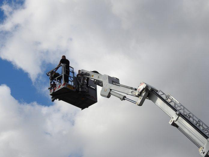 Nacelle elevatrice de chantier - Wootmat.fr